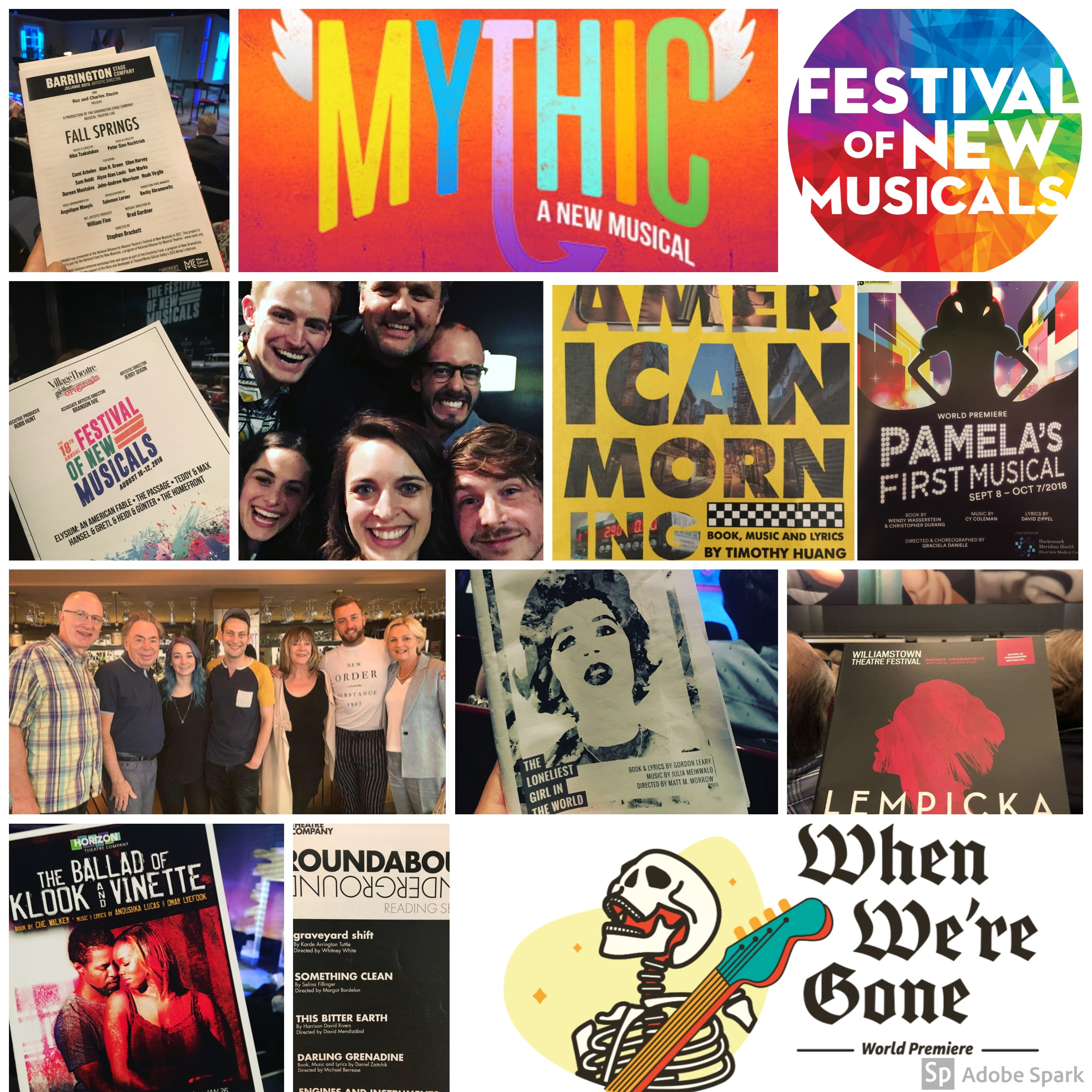 Namt New Musicals Month Week In Review Week Of 9 24 18 Namt